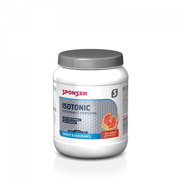 Isotonic Red Orange Sponser Sports Food